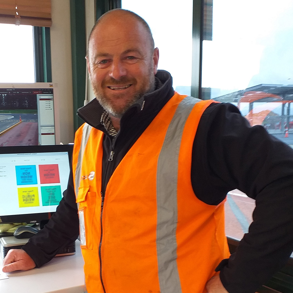 Tony Sheard, Contract Supervisor, Pines Resource Recovery Park, Selwyn District Council | Weightrax client